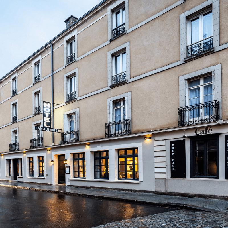 Hôtel LANJUINAIS Travaux d'embellissement de l'hôtel Tce ingenierie
