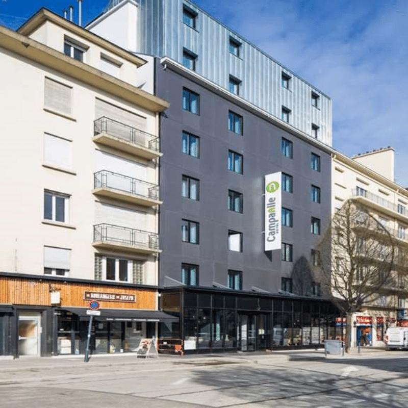 Hôtel CAMPANILE Travaux d'extension, de surélévation et de réhabilitation tce ingenierie