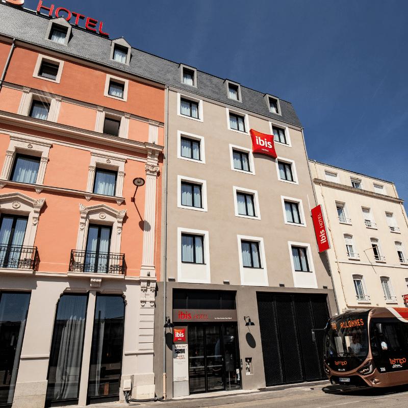 Hôtel IBIS Travaux de restructuration tce ingenierie